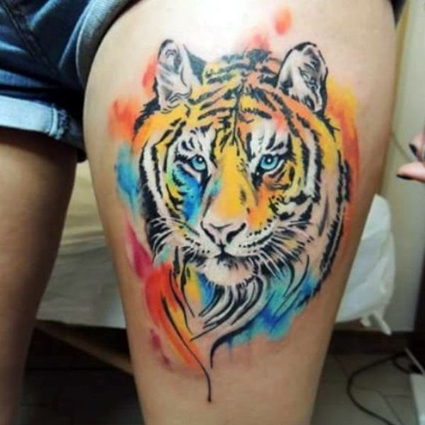 Tiger tattoo 40