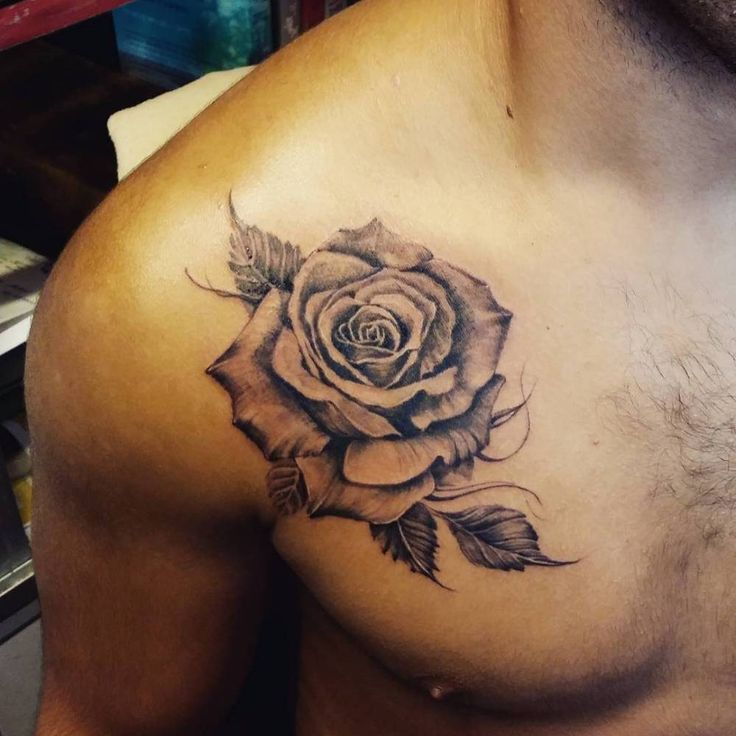 Rose Tattoo For Men Designs, Ideas And Meaning