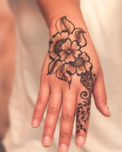 hand tattoos for girls designs ideas and meaning. Black Bedroom Furniture Sets. Home Design Ideas