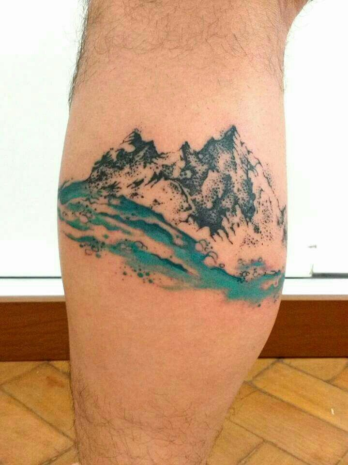 Watercolor Mountain Tattoo Designs, Ideas and Meaning ...