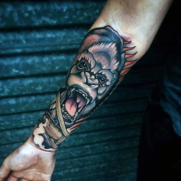Ideas And Designs For Guys: Badass Tattoos For Men Designs, Ideas And Meaning