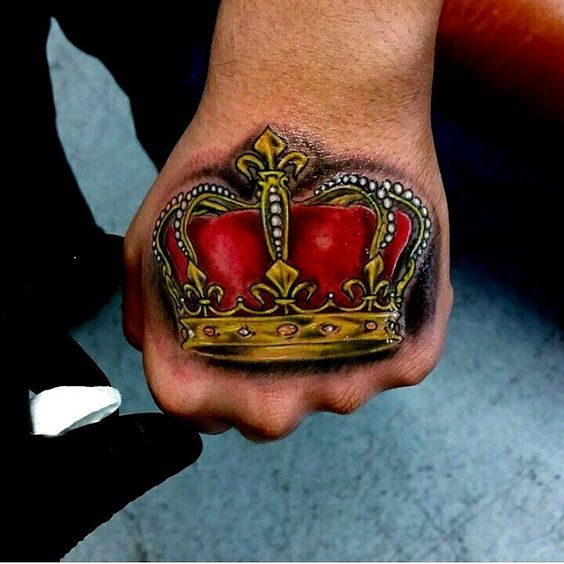 Small Men Crown Tattoo: Crown Tattoos For Men Designs, Ideas And Meaning