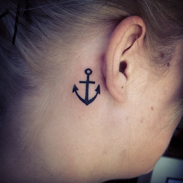 Behind The Ear Tattoos Designs Ideas And Meaning Tattoos For You