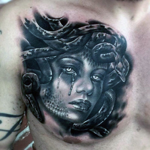 Chest Tattoos For Men Designs, Ideas And Meaning