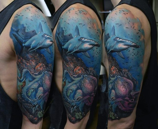 Ocean Tattoos Designs Ideas And Meaning Tattoos For You
