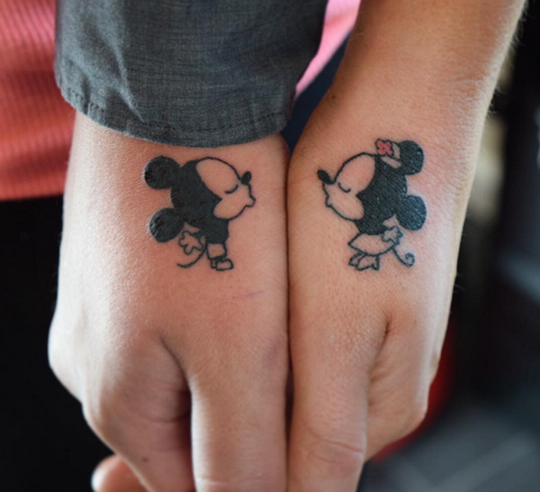 Husband And Wife Matching Tattoos Designs, Ideas And
