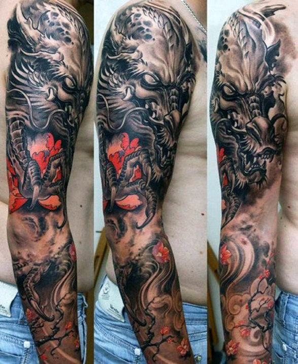 Half Sleeve Tattoos Designs Ideas And Meaning: Japanese Sleeve Tattoos Designs, Ideas And Meaning