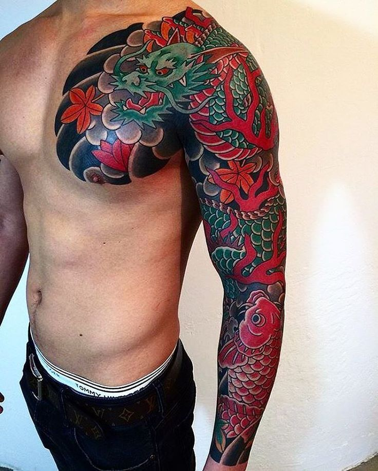 Japanese Sleeve Tattoos Designs Ideas And Meaning Tattoos