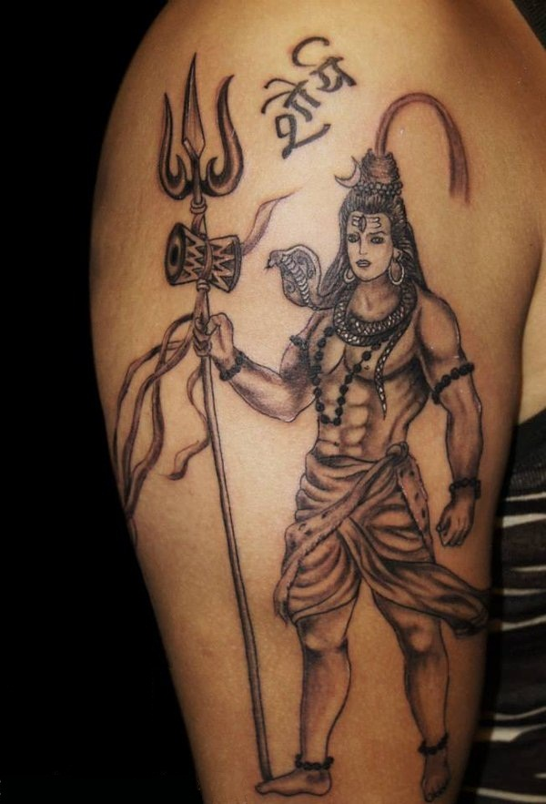 shiva tattoo designs ideas and meaning tattoos for you. Black Bedroom Furniture Sets. Home Design Ideas