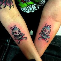Matching Skull Tattoos Designs Ideas And Meaning Tattoos For You