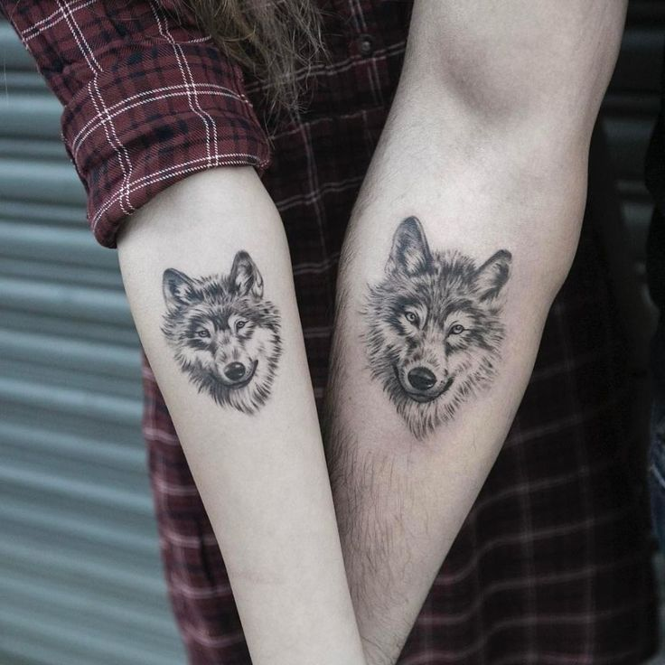 Wolf Tattoos Designs Ideas And Meaning: Matching Wolf Tattoos Designs, Ideas And Meaning