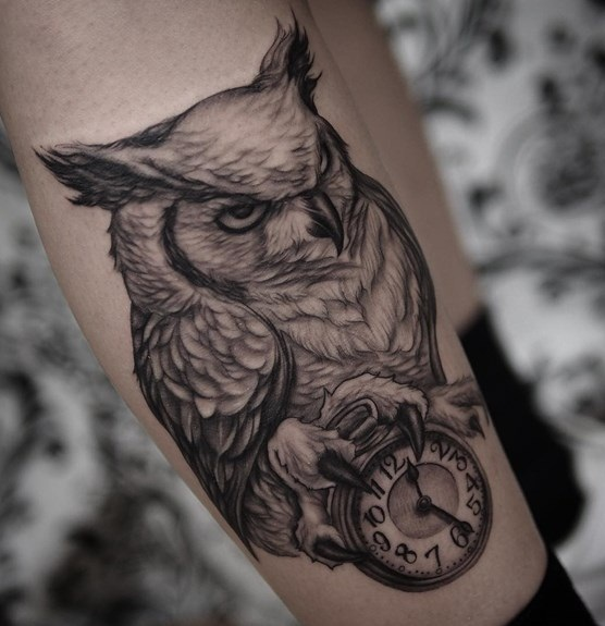 Owl Tattoos For Men Designs Ideas And Meaning Tattoos For You