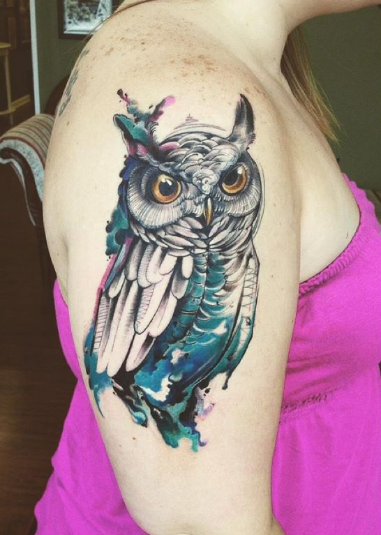 owl sleeve tattoos designs ideas and meaning tattoos for you. Black Bedroom Furniture Sets. Home Design Ideas