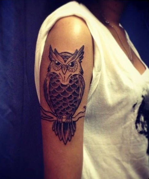 Underarm Tattoos Designs Ideas And Meaning: Owl Tattoos For Girls Designs, Ideas And Meaning