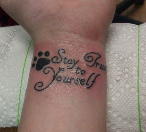 Inspirational wrist tattoos designs ideas and meaning for Inspirational wrist tattoos