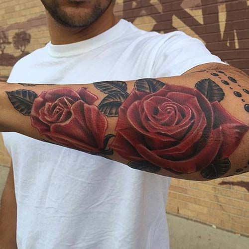 Rose Tattoos For Men Designs, Ideas And Meaning