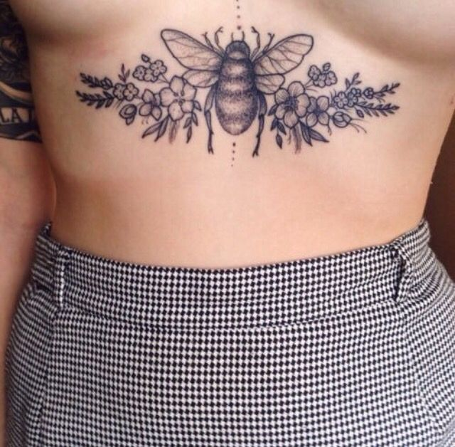 Sternum Tattoo Designs, Ideas And Meaning