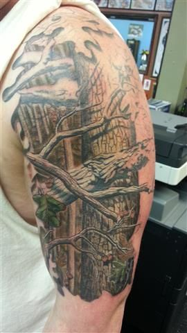 Camo Tattoo Designs Ideas and Meaning Tattoos For You