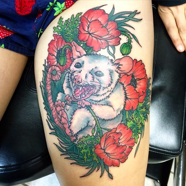 Thigh Tattoos For Women Designs, Ideas And Meaning