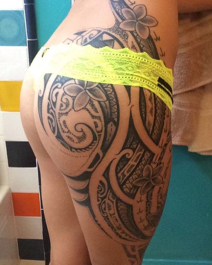 Tribal Thigh Tattoos Designs, Ideas and Meaning   Tattoos For You