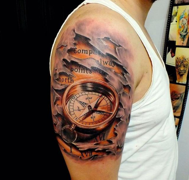 3d Tattoos for Men Designs, Ideas and Meaning | Tattoos For You