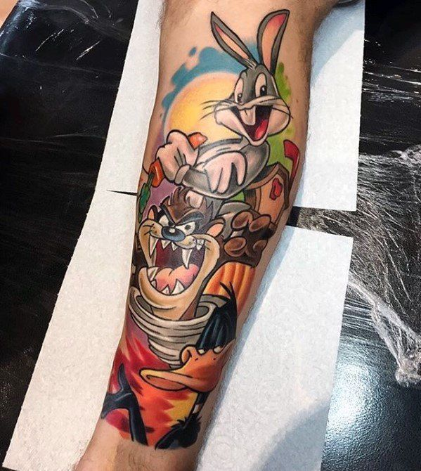 Cartoon Tattoos Designs Ideas And Meaning Tattoos For You