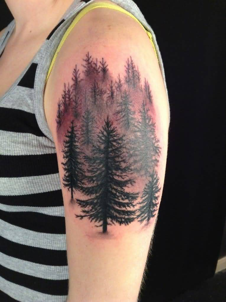 Forest Tattoo Designs, Ideas and Meaning | Tattoos For You