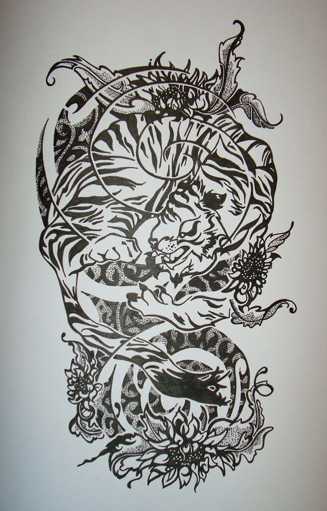 Half Sleeve Tattoos Designs Ideas And Meaning Tattoos For You