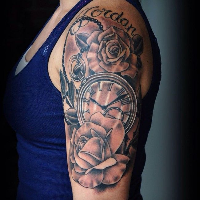 Full Sleeve Tattoo Pics: Half Sleeve Tattoos Designs, Ideas And Meaning