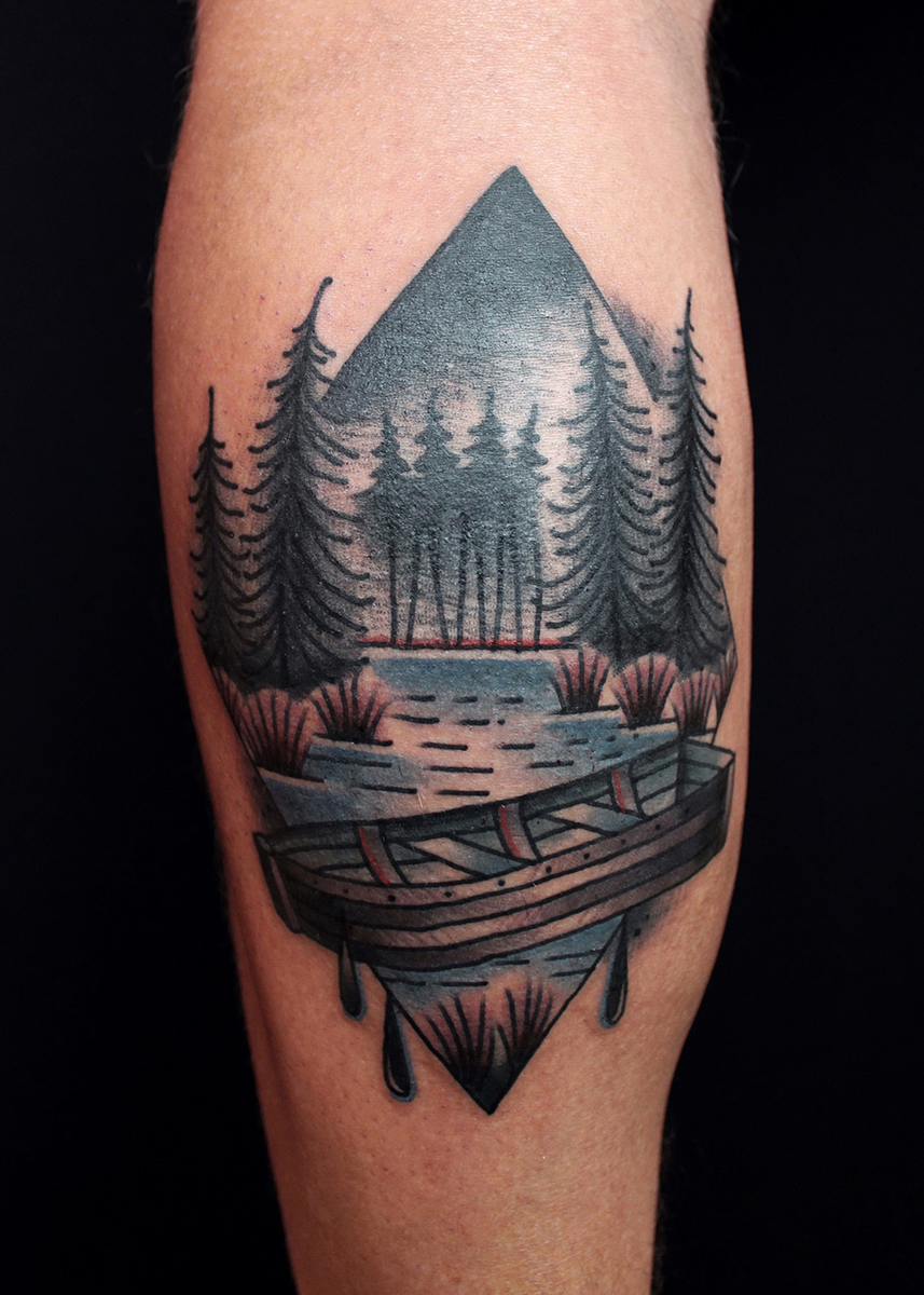 Forest Tattoo Designs, Ideas And Meaning