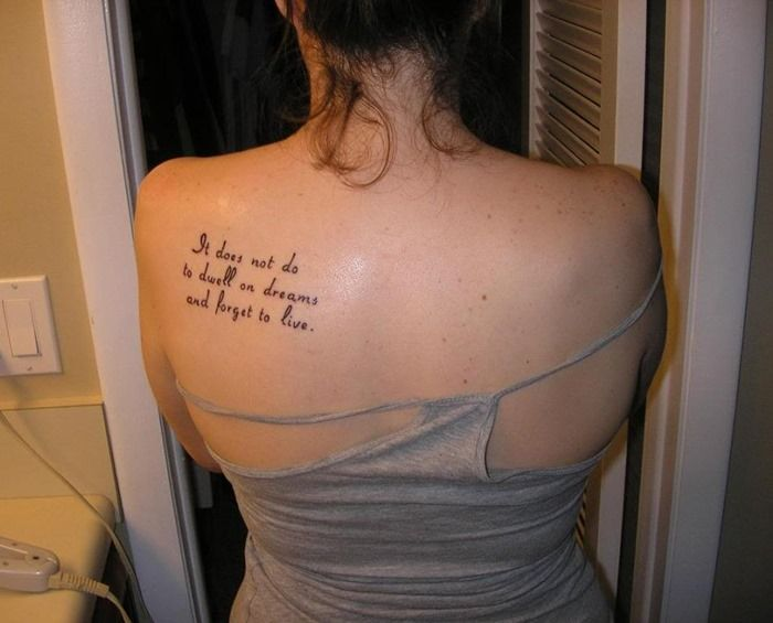e998ddc66 Shoulder Blade Tattoos Designs, Ideas and Meaning | Tattoos For You