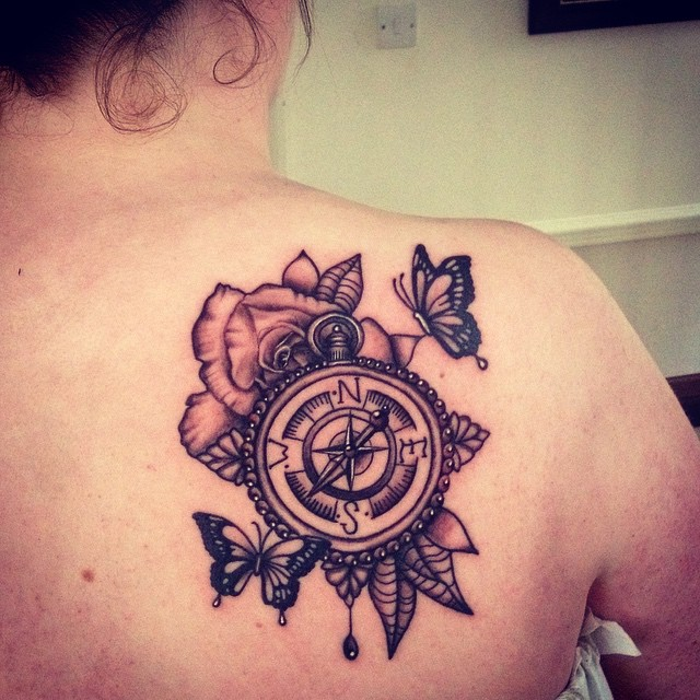 shoulder blade tattoos designs  ideas and meaning