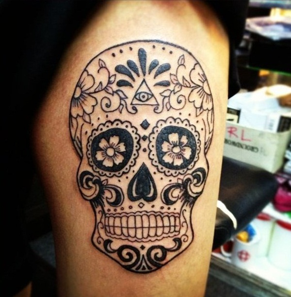 Skull Thigh Tattoos Designs Ideas And Meaning Tattoos For You