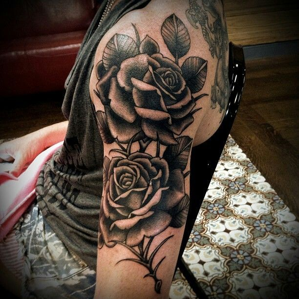 Half Sleeve Tattoos Designs Ideas And Meaning: Rose Sleeve Tattoos Designs, Ideas And Meaning