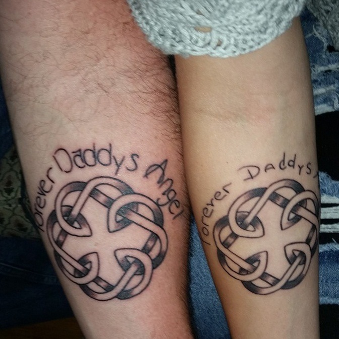 Father Daughter Tattoos Designs, Ideas And Meaning