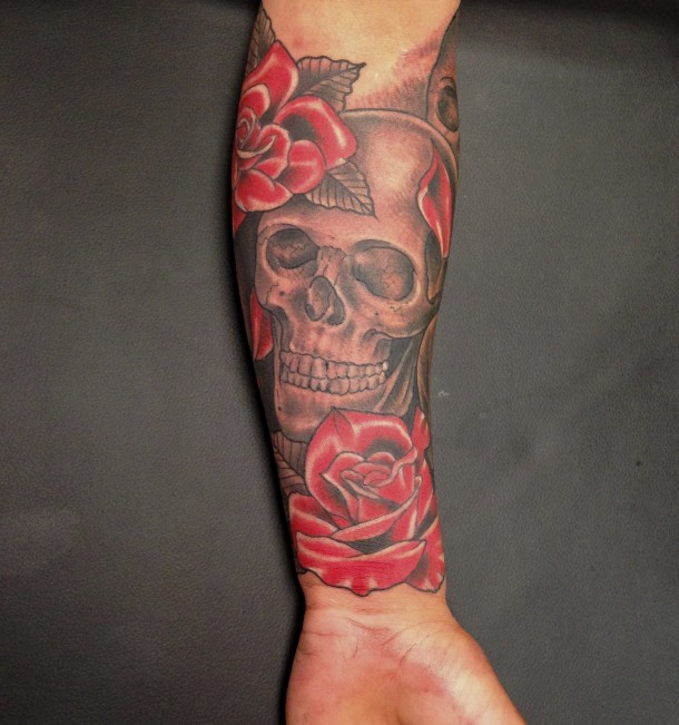 Rose Sleeve Tattoos Designs Ideas And Meaning Tattoos For You